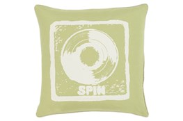 Accent Pillow-Spin Lime/Ivory 18X18
