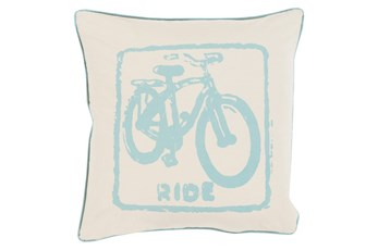 Accent Pillow-Ride Moss/Beige 18X18