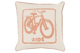 Accent Pillow-Ride Tan/Beige 20X20