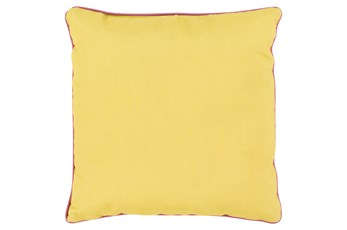 Accent Pillow-Barnes Solid Gold 20X20