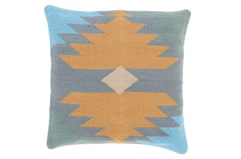 Accent Pillow-Sedona Abstract Natural Multi 18X18