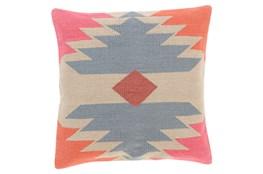 Accent Pillow-Sedona Abstract Orange Multi 18X18