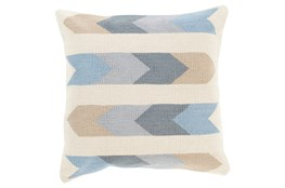 Accent Pillow-Arrow Abstract Beige Multi 18X18
