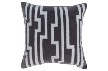 Accent Pillow-Avion Geo Grey 20X20