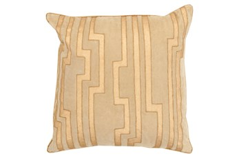Accent Pillow-Avion Geo Gold 20X20