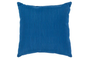 Accent Pillow-Alley Solid Cobalt 20X20