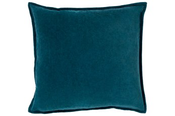 Accent Pillow-Beckley Solid Teal 22X22