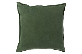 Accent Pillow-Beckley Solid Emerald 18X18