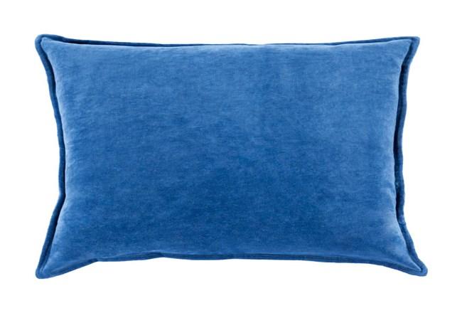 Accent Pillow-Beckley Solid Cobalt 13X19 - 360