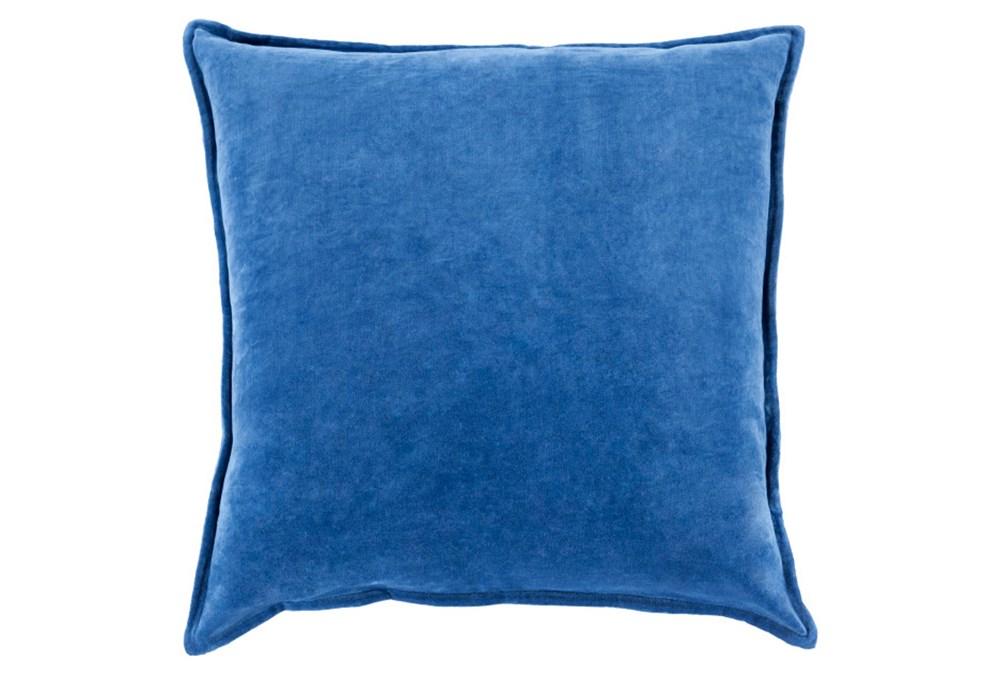 Accent Pillow-Beckley Solid Cobalt 22X22