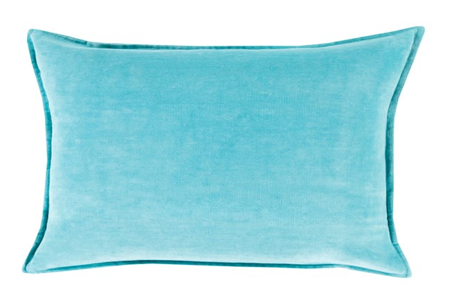 Accent Pillow-Beckley Solid Sky Blue 13X19 - 360