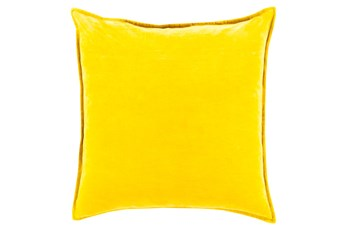 Accent Pillow-Beckley Solid Gold 18X18