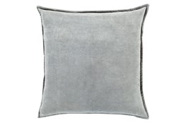 Accent Pillow-Beckley Solid Light Grey 18X18