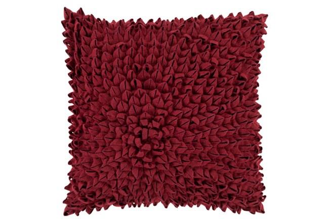 Accent Pillow-Daisy Burgundy 20X20 - 360