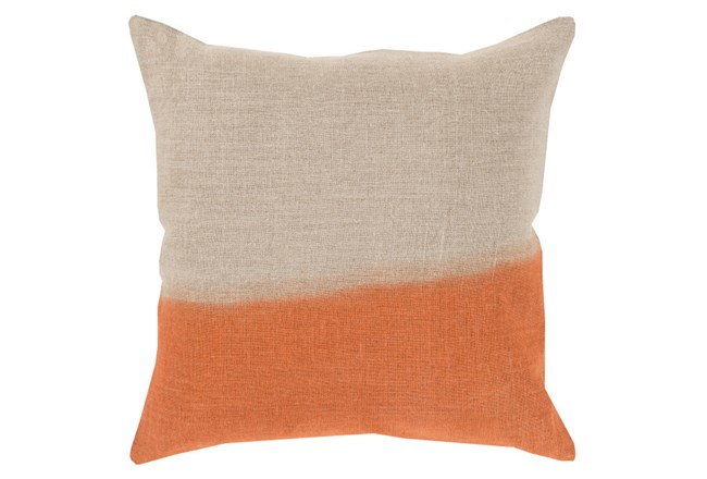 Accent Pillow-Half Dyed Orange 18X18 - 360