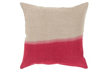 Accent Pillow-Half Dyed Cherry 18X18
