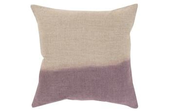 Accent Pillow-Half Dyed Mauve 18X18