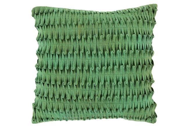 Accent Pillow-Carly Green 18X18 - 360