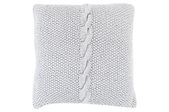 Accent Pillow-Serenity Light Grey 22X22