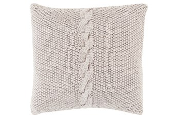Accent Pillow-Serenity Grey 18X18