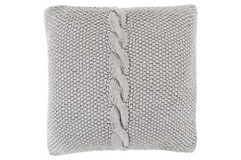 Accent Pillow-Serenity Medium Grey 22X22