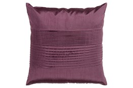 Accent Pillow-Coralline Eggplant 22X22