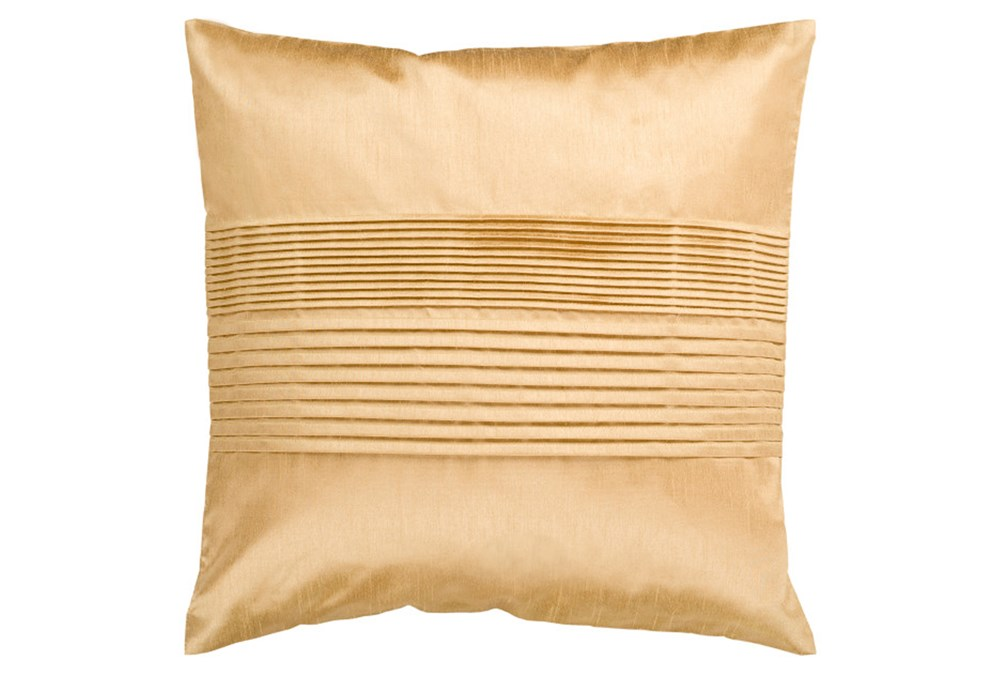 Accent Pillow-Coralline Gold 22X22
