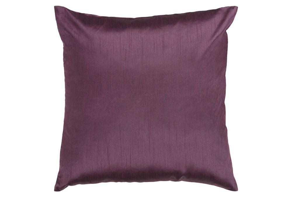 Accent Pillow-Cade Eggplant 18X18