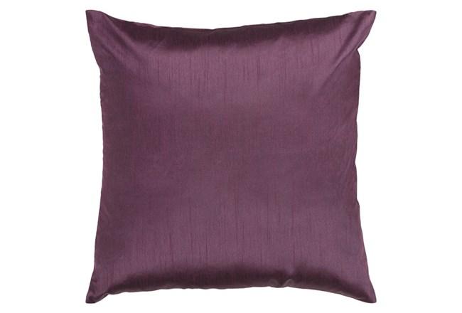 Accent Pillow-Cade Eggplant 18X18 - 360