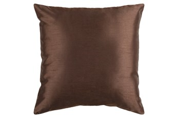 Accent Pillow-Cade Chocolate 22X22