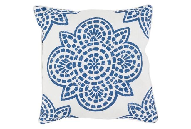 Accent Pillow-Mendi Cobalt 16X16 - 360