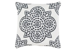 Accent Pillow-Mendi Black 20X20