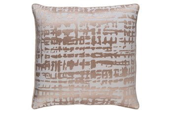 Accent Pillow-Vesalia Champagne 20X20