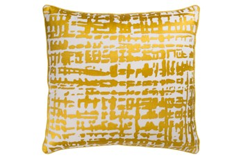 Accent Pillow-Vesalia Gold 20X20