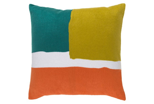 Accent Pillow-Stevens Green Multi 20X20 - 360