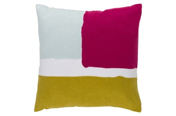 Accent Pillow-Stevens Pink Multi 18X18