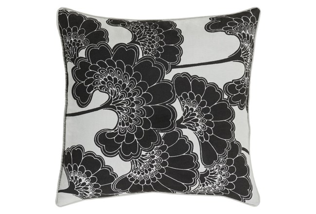 Accent Pillow-Kyoto Black 20X20 - 360