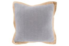 Accent Pillow-Foster Grey/Mocha 22X22