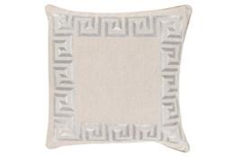 Accent Pillow-Maya Light Grey 20X20