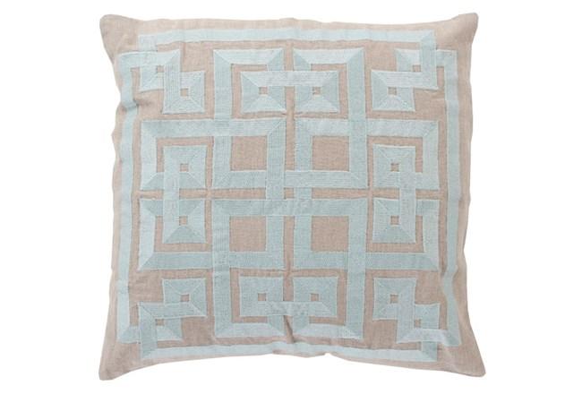 Accent Pillow-Trina Beige/Grey 20X20 - 360