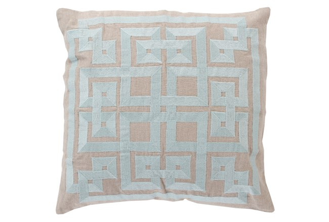 Accent Pillow-Trina Beige/Grey 22X22 - 360