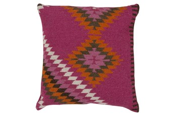 Accent Pillow-Azteca Magenta Multi 22X22