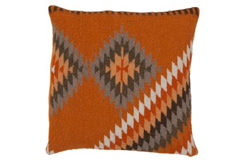 Accent Pillow-Azteca Orange Multi 20X20