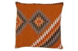 Accent Pillow-Azteca Orange Multi 22X22