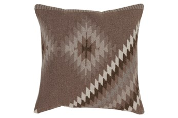Accent Pillow-Azteca Taupe Multi 20X20