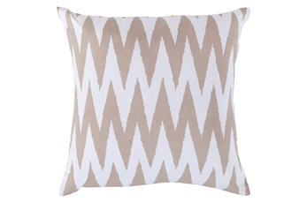Accent Pillow-Brittany Ivory 18X18