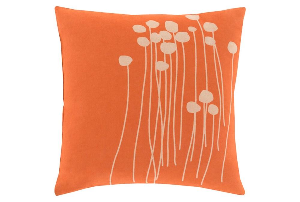 Accent Pillow-Dandelion Orange 18X18
