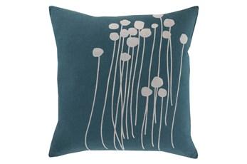 Accent Pillow-Dandelion Teal 20X20