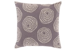 Accent Pillow-Annayse Charcoal 20X20