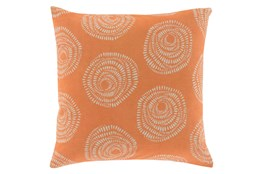 Accent Pillow-Annayse Orange 18X18